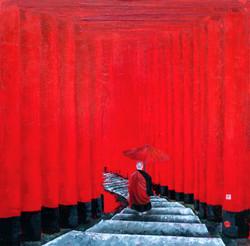 Mystical steps of Fushimi.