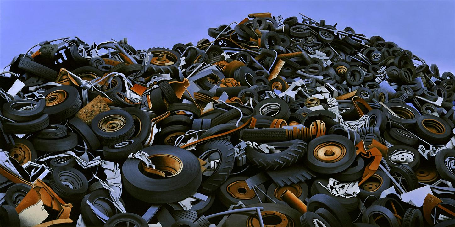 Retired tires