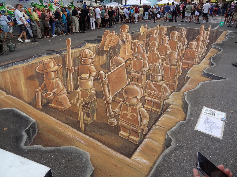3D street-art Sarasota