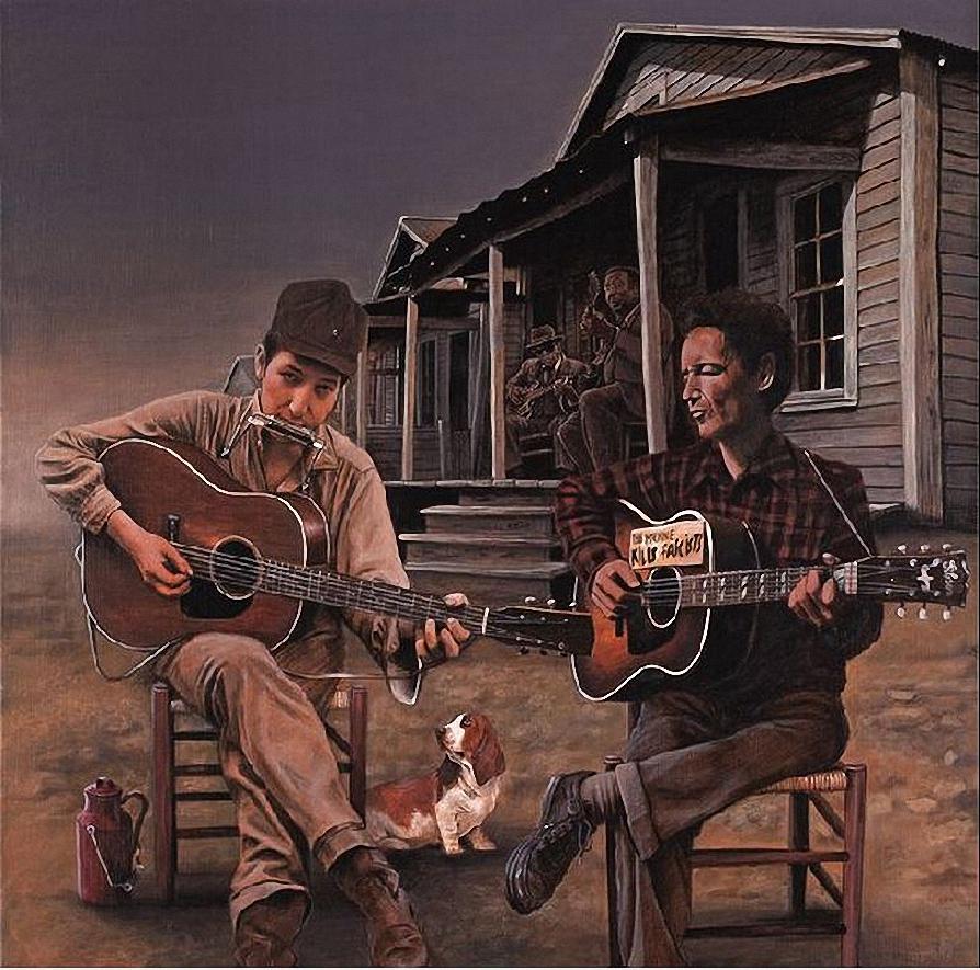 Bob Dylan en Woody Guthry.jpg