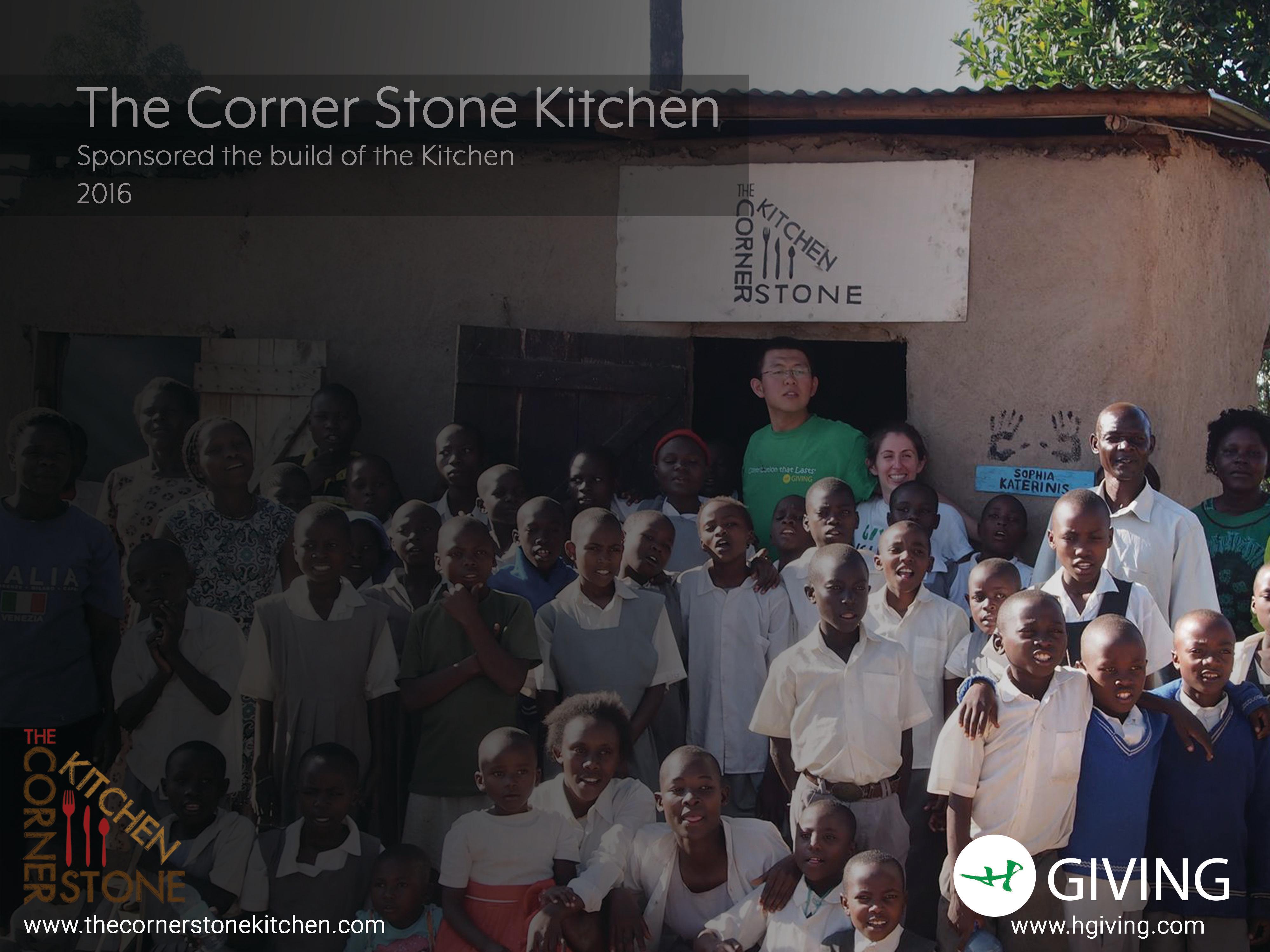 Corner Stone Kitchen