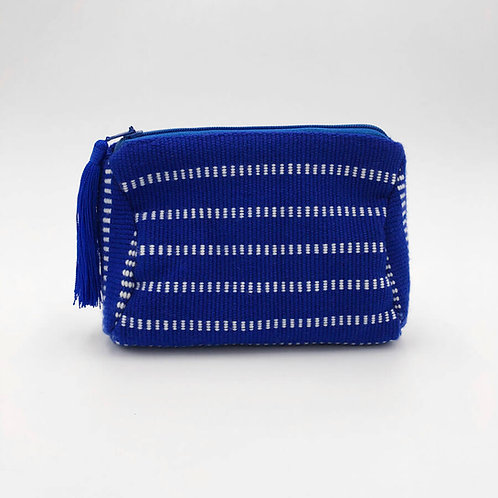 kuhkay cosmetic bag (blue)