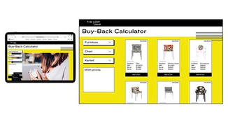 The store owner can either upload a photo of the product or quickly fill in the information and locate the correct item. The calculator generates a price to pay the customer, and how much to sell it for in-store.