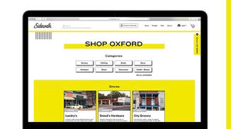 Sidewalk Shop acts as an online one-stop-shop where people can access all of the local retailers in their communities.