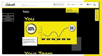 By showing people the impact their local spending can have, and leveraging the power of social influence, Tally will play a crucial role in helping people form new habits and behaviors. Shoppers can see how close they are to their monthly goal.