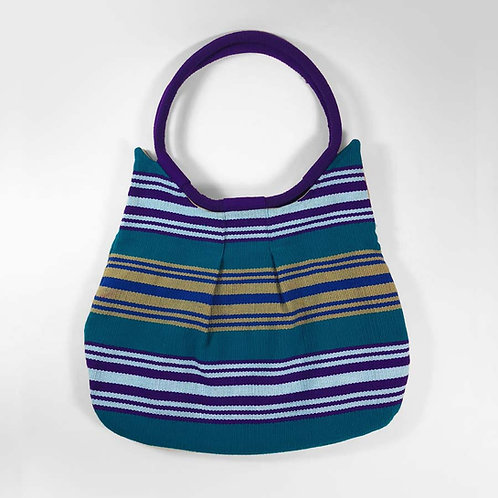 ix chel (Goddess of Weaving) Shoulder Bag, Sunset Over Sea