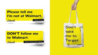 To make their commitment to shopping local public, people who take the Sidewalk Pledge will receive a bumper sticker and tote bag.