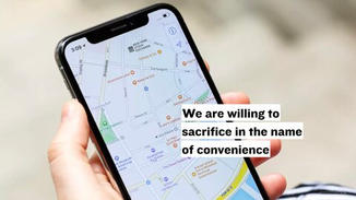 The contrast from the past to now is how willing we are to give up and sacrifice in the name of convenience.    We sacrifice our privacy, our health, our money, and our enjoyment in our constant search for convenience.