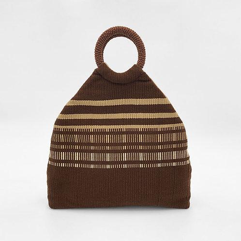 ch'am (Grasp) Clutch, Handbag, Shoulder Bag (brown / khaki)