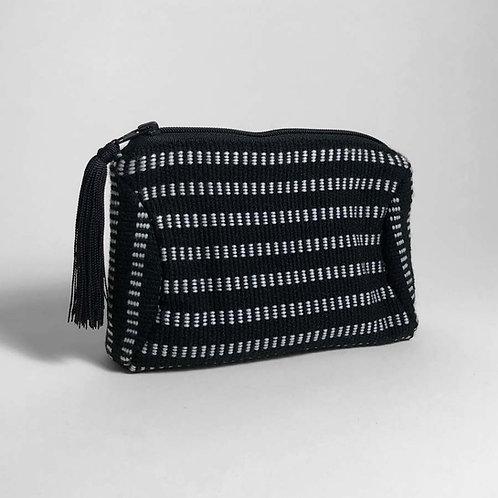 kuhkay cosmetic bag (black / white)