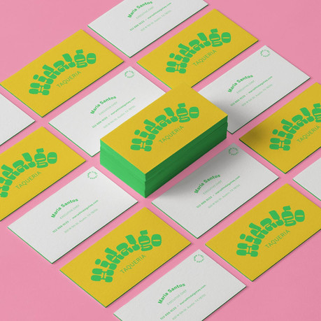 Maria's Business Cards