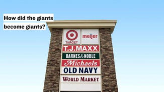 So, how did the giants become giants?