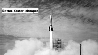 Humans have always searched for better, faster, and cheaper ways to do things.