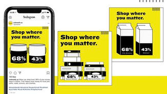 Each creative will be locally customized– comparing the community benefit of shopping local versus a chain alternative. The messaging will teach people that when they shop at local stores, more money stays in their community, which means more money for local jobs, parks, roads, schools, and charities.