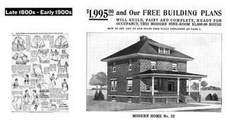 They promoted value and offered everything: from underwear to kits for building homes.