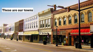 These are the shops that inhabit our towns.
