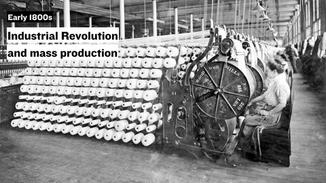 During the early 1800s, the boom of the Industrial Revolution made manufacturing much easier and more streamlined, and enabled the mass production of products.