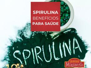 Spirulina para suplementação alimentar