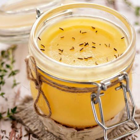 A manteiga ghee é saudável