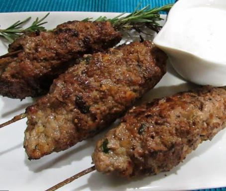 Receita Árabes na versão vegetariana