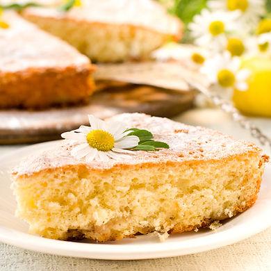 bolo de camomila vegano emporio manjeric