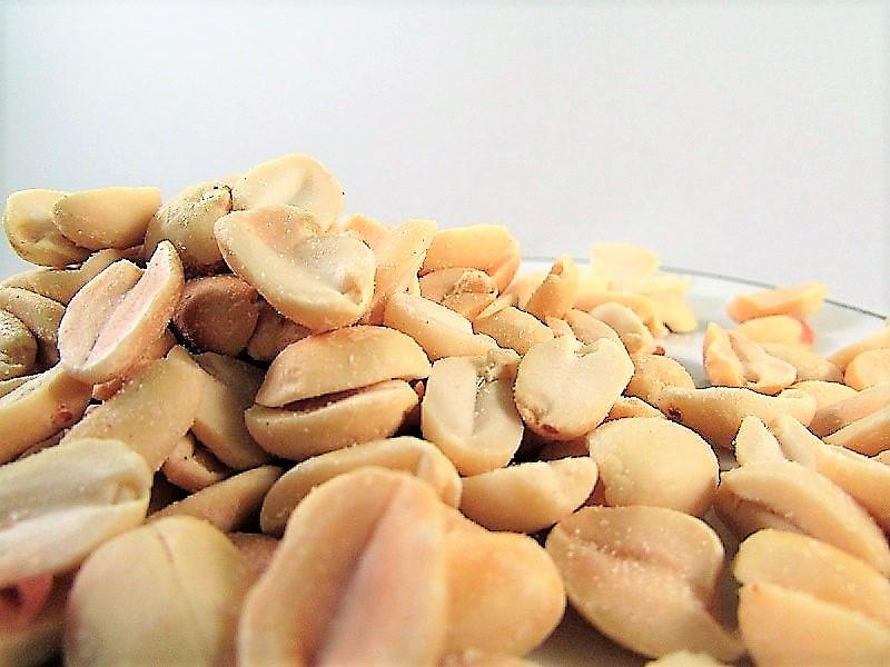 amendoins torrados sem sal