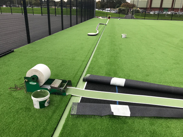 Installation of Sports Lines