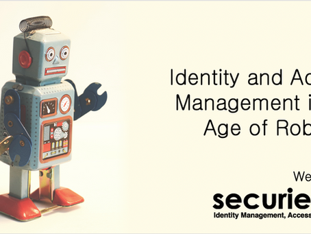 Robotic Process Automation (RPA) for Identity and Access Management (IAM) - Webinar