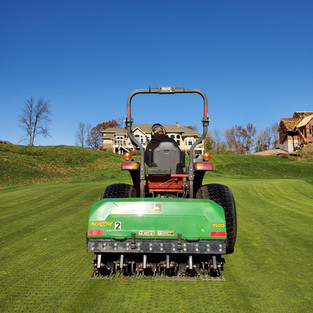Conventional Aercore Greens
