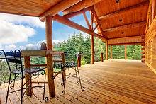 Wooden Porch