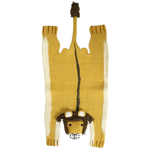 KLIPPAN Kid's Carpet Lion