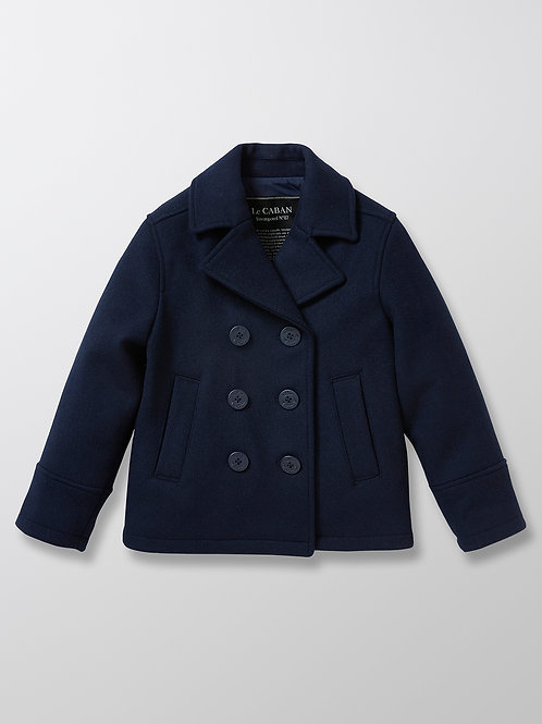 CYRILLUS Wool Pea Coat