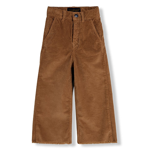FINGER IN THE NOSE Charlie Walnut Cord Jeans