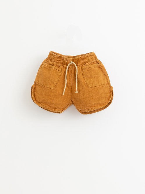 PLAY UP Linen Shorts