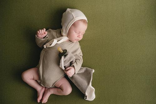 FORGAMINNT Kimono Bodysuit (Sage)