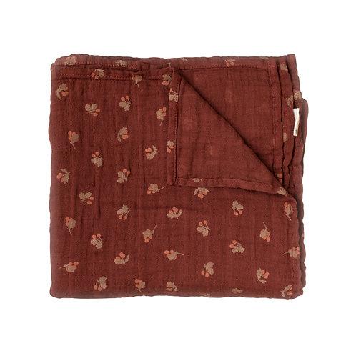 MAIN SAUVAGE Swaddle Blanket - Hawthorns