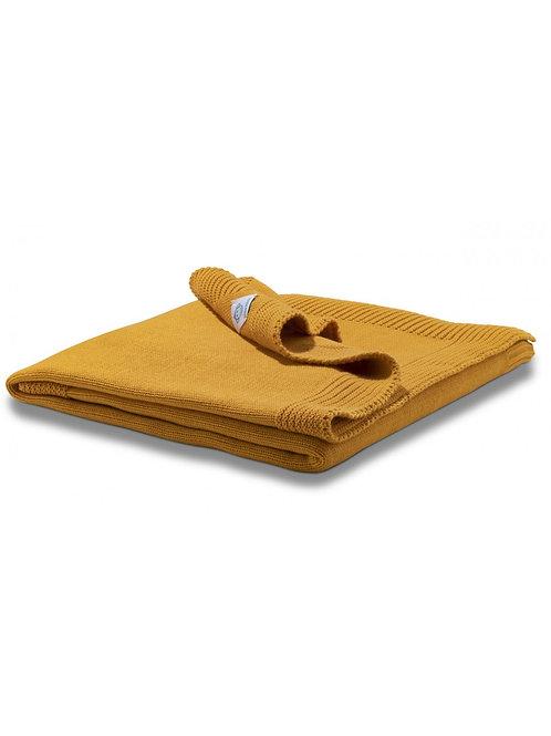 MM Baby Blanket - Ochre