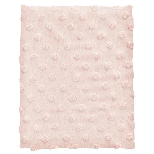 COTTONBABY Blanket Dot Light Pink