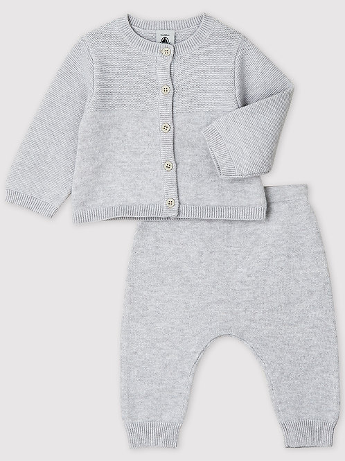 PETIT BATEAU Knit Clothing Set