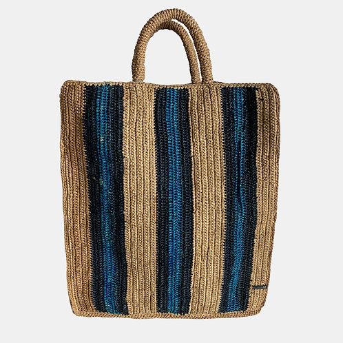 BAG Striped Blue
