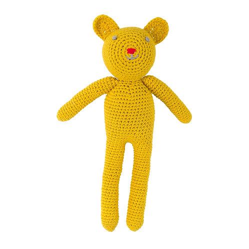 GLOBAL AFFAIRS Crochet Bear Bobby