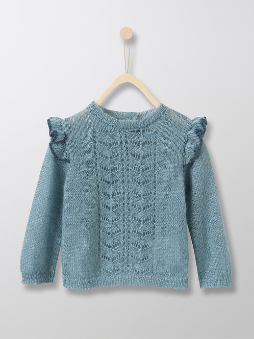 CYRILLUS Baby's Wool and Mohair Sweater