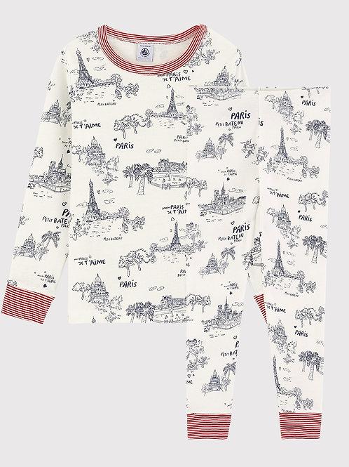 PETIT BATEAU Toile de Jouy Paris Pyjamas