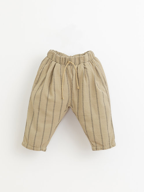PLAY UP Striped Woven Trousers