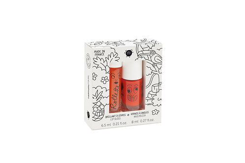 NAILMATIC Coffret Duo rollette +Vernis - Lovely City- Tropical Toucan