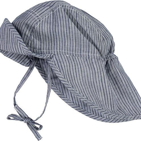 WHEAT Baby Boy Sun Hat Blue Stripe