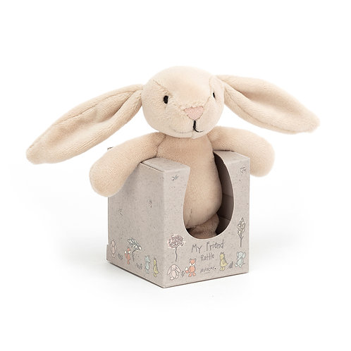 JELLYCAT My Friend Bunny Rattle