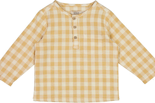 WHEAT Shirt Bjork Taffy Check