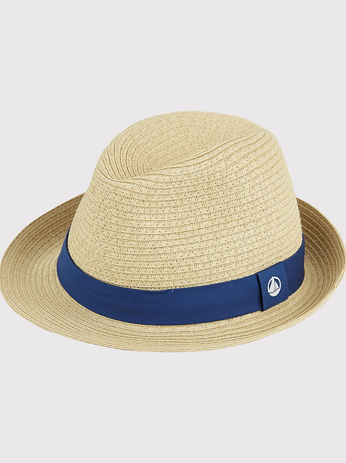 PETIT BATEAU Unisex Straw Hat