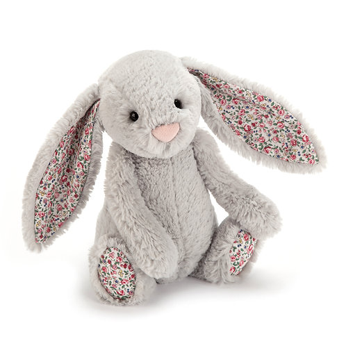 JELLYCAT Blossom Silver Bunny (S/M)